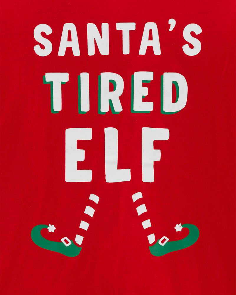 Adult Women's Holiday Elf Jersey Tee, , hi-res