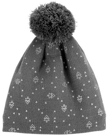 Reflective Band Winter Hat