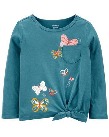 Butterfly Jersey Tee