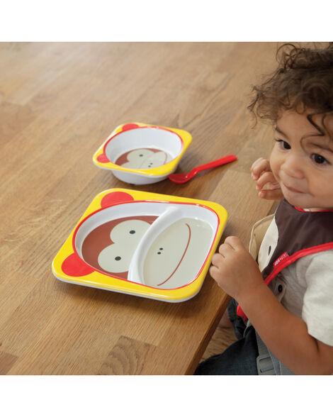 Zoo Little Kid Plate