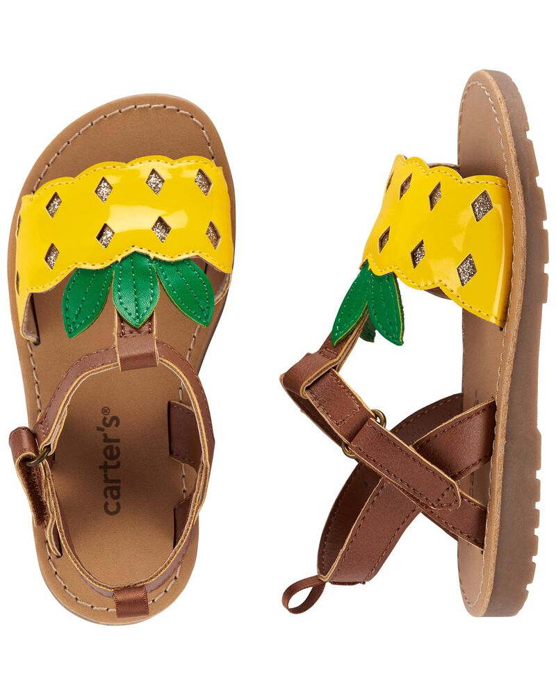 Sandales à ananas, , hi-res