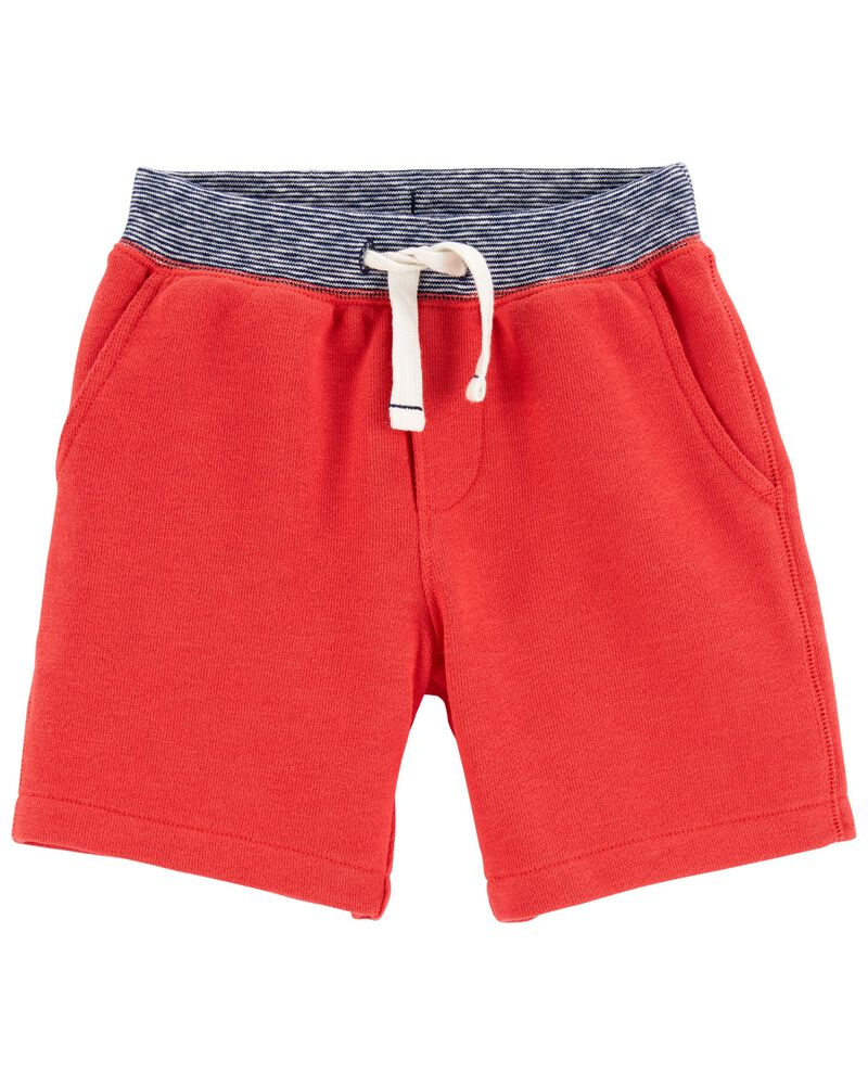 Pull-On French Terry Shorts, , hi-res