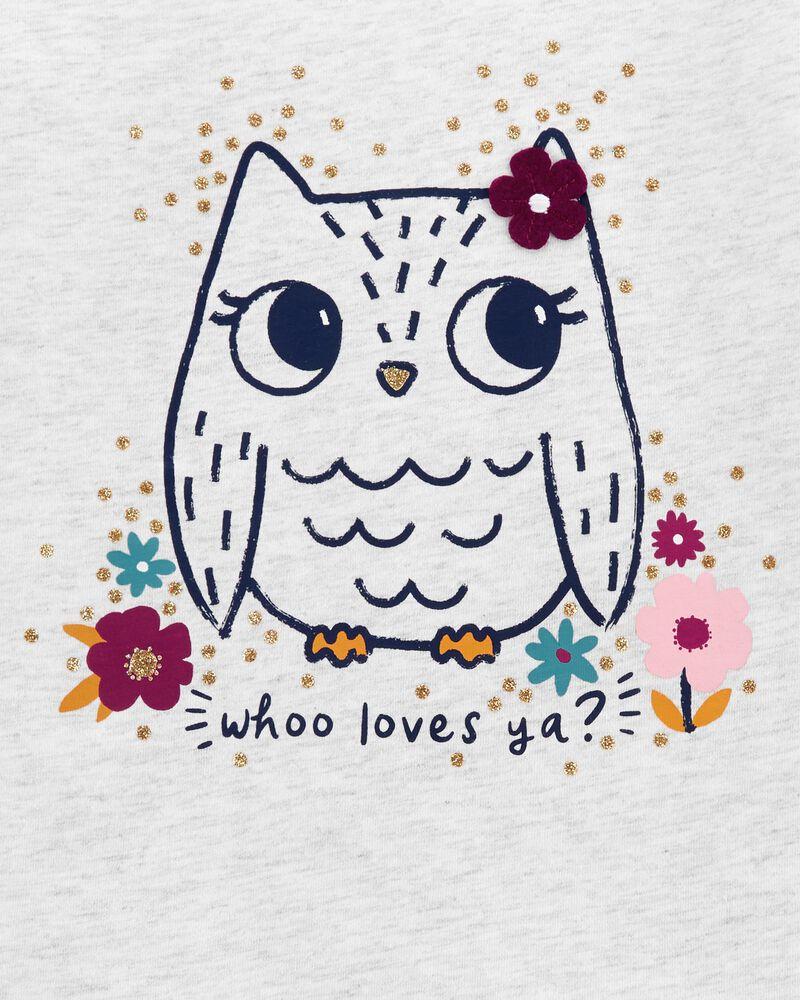 Owl Jersey Tee, , hi-res