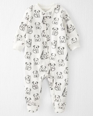 Organic Cotton 2-Way Zip Sleep & Pl...