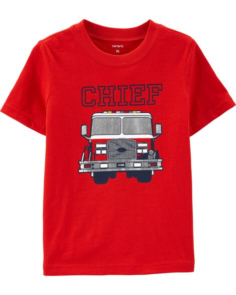 Firetruck Graphic Tee