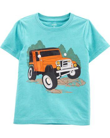 T-shirt en jersey camion dévoilé