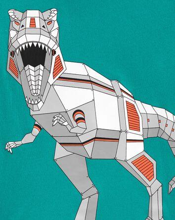 T-shirt en jersey à dinosaure robot