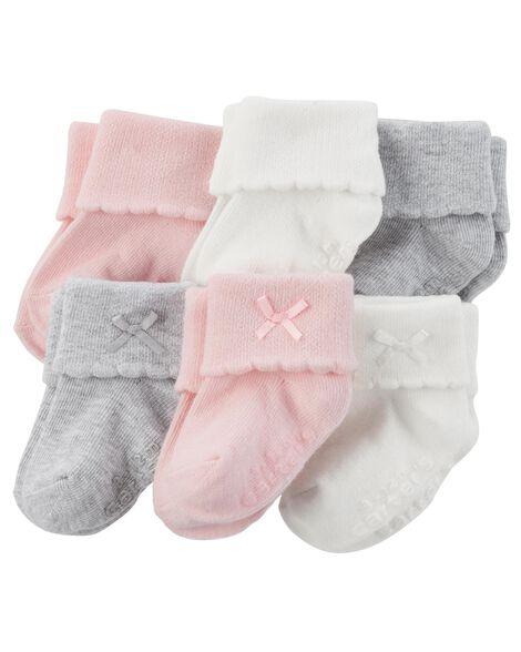 6 paires de chaussettes