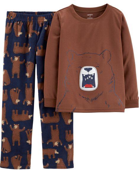2-Piece Bear PJs