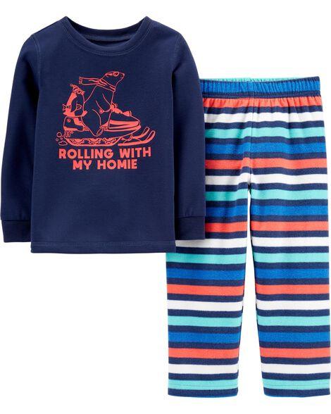 Pyjama 2 pièces Rolling with my Homie