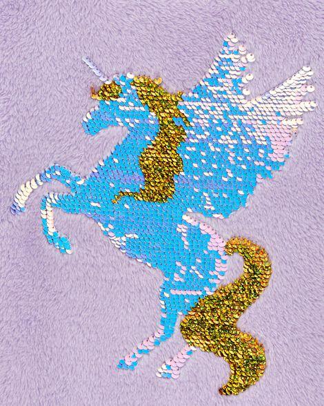Flip Sequin Unicorn Fuzzy Sweater