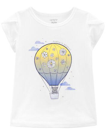T-shirt en jersey à mongolfière
