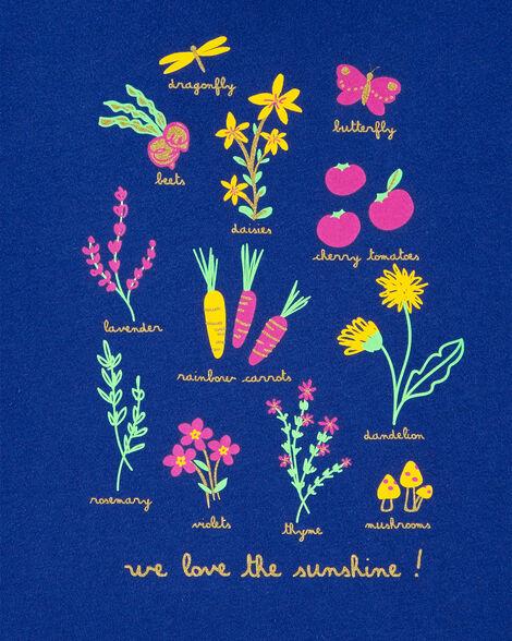 Flower Jersey Tee