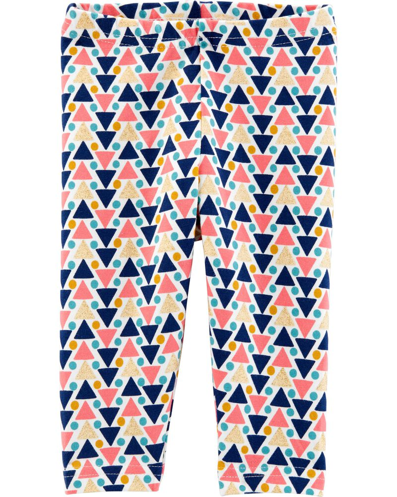 Geo Print Leggings, , hi-res