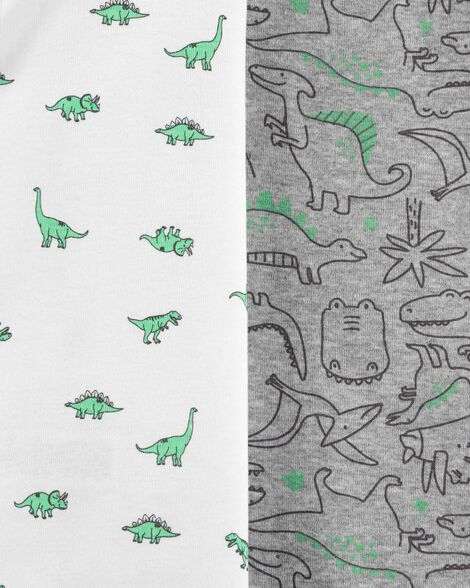 Emballage multiple 5 cache-couches originaux motif dinosaure