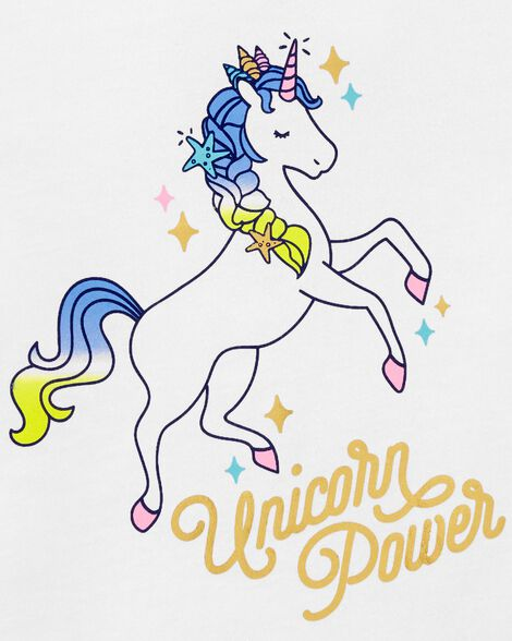 Unicorn Power Tie-Sleeve Tee