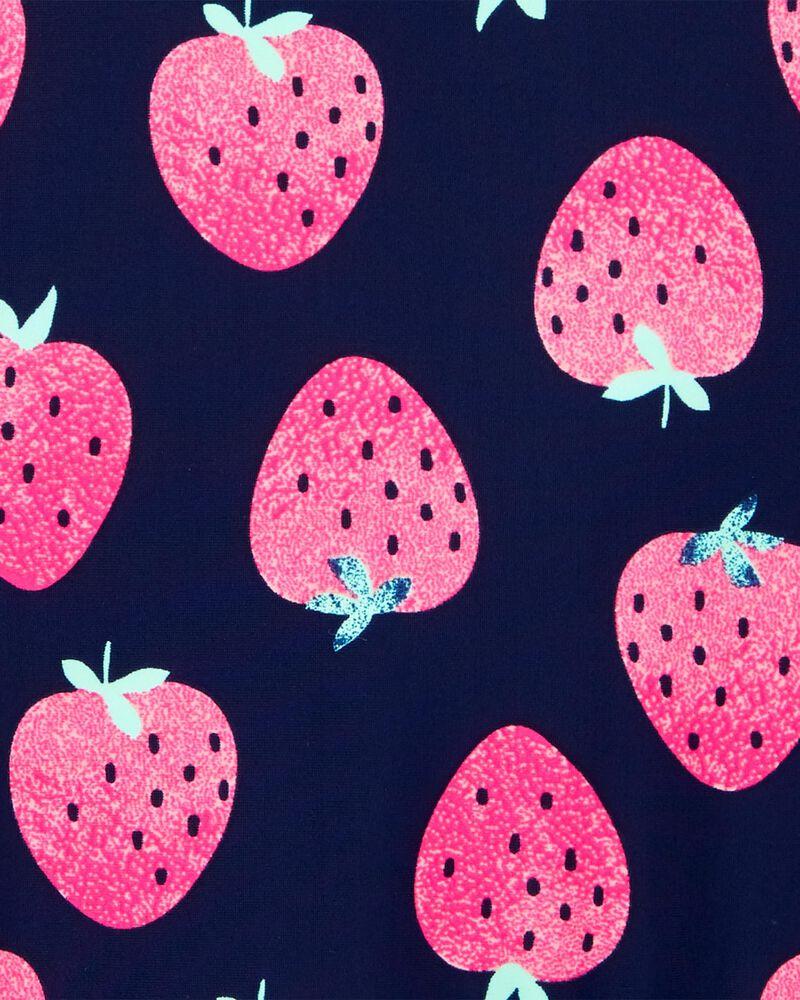 Maillot de bain 1 pièce à fraise, , hi-res