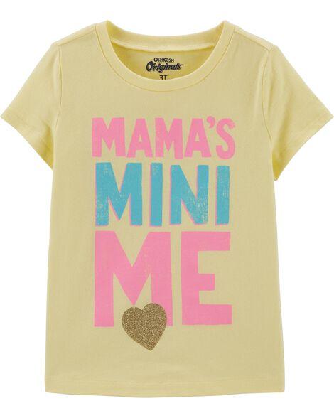 T-shirt à imprimé original Mini Me