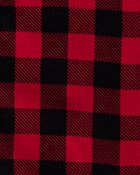 2-Piece Adult Holiday Coat-Style Fleece PJs, , hi-res