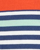 2-Pack Striped Rompers, , hi-res