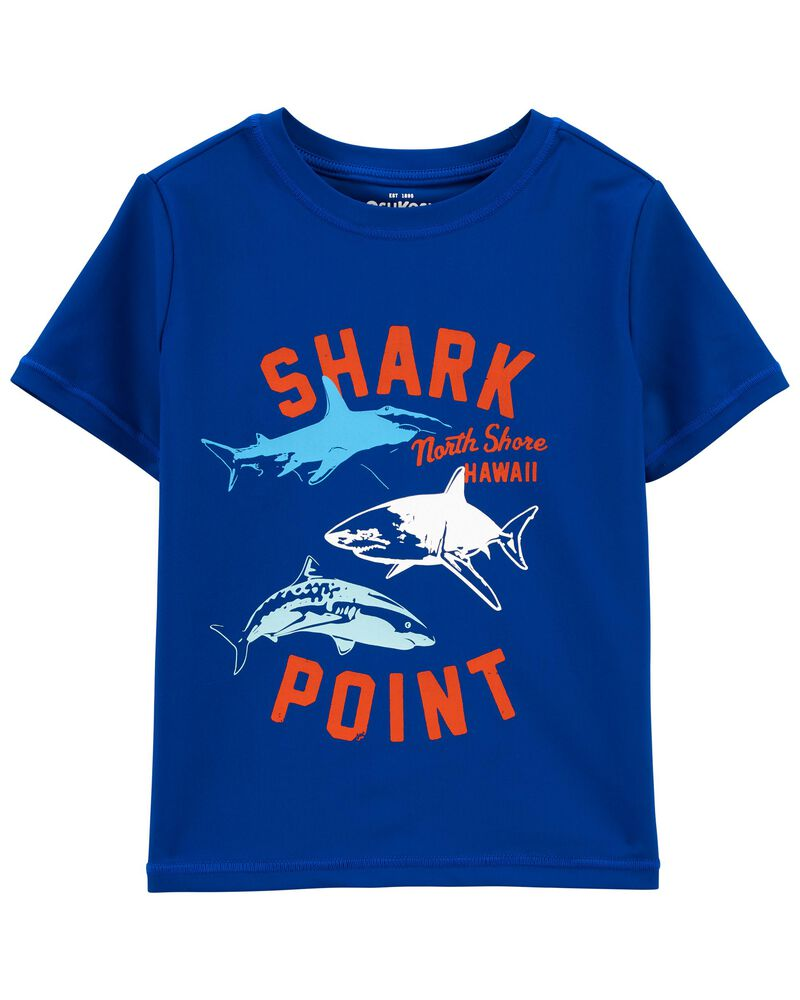 Shark Point Rashguard, , hi-res