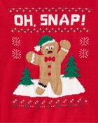 Gingerbread Man Holiday Sweater, , hi-res