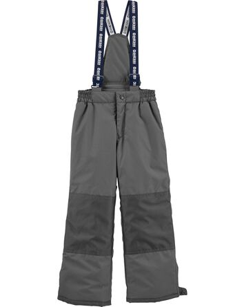 Snow Pant With Removable Bib