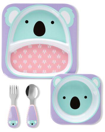 Zoo Mealtime Gift Set