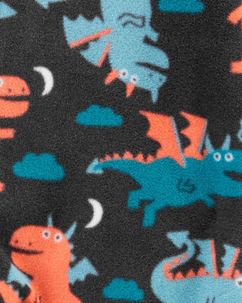 1-Piece Dragon Fleece Footie PJs, , hi-res