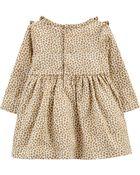 Leopard Print Jersey Dress, , hi-res