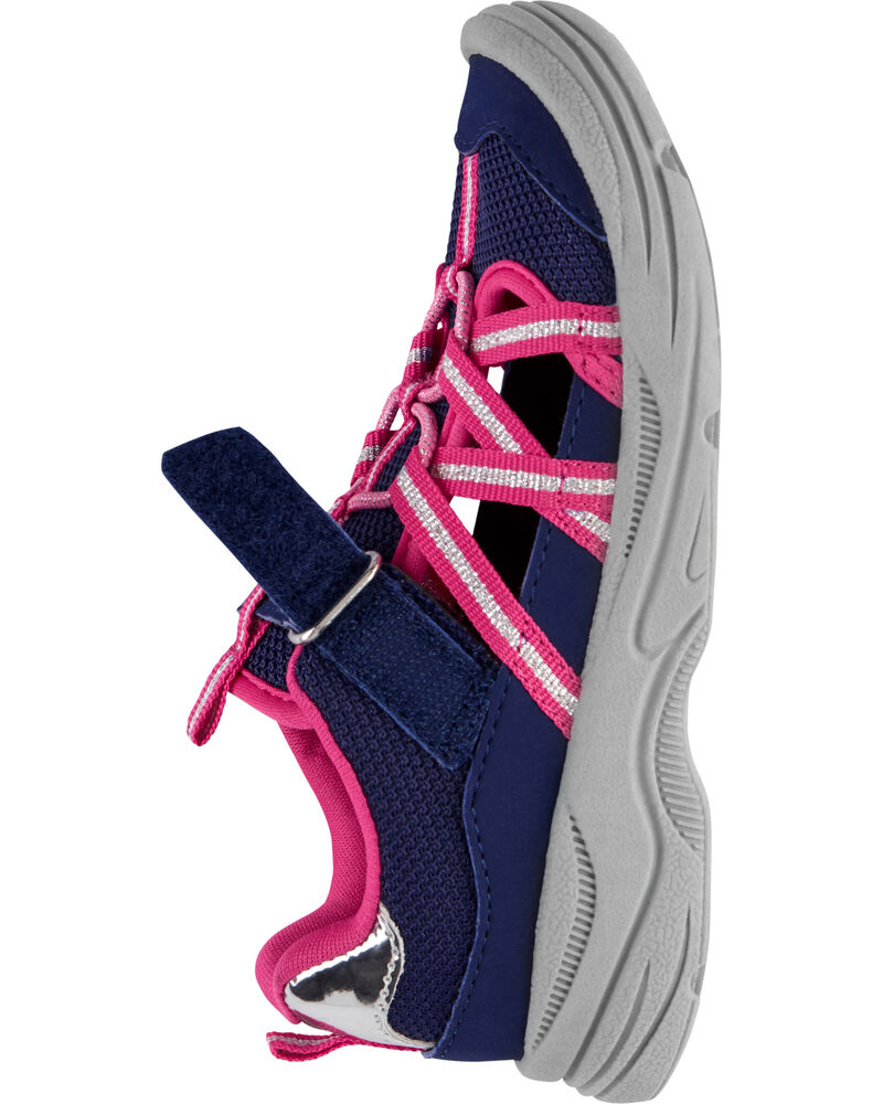 OshKosh Navy Bump Toe Sandals, , hi-res