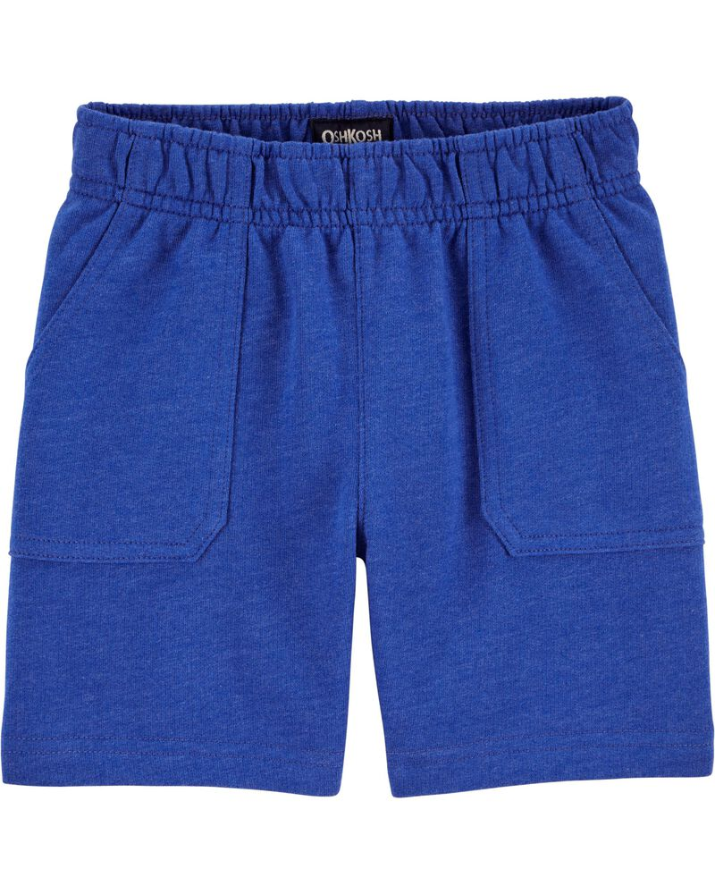 French Terry Pull-On Shorts, , hi-res