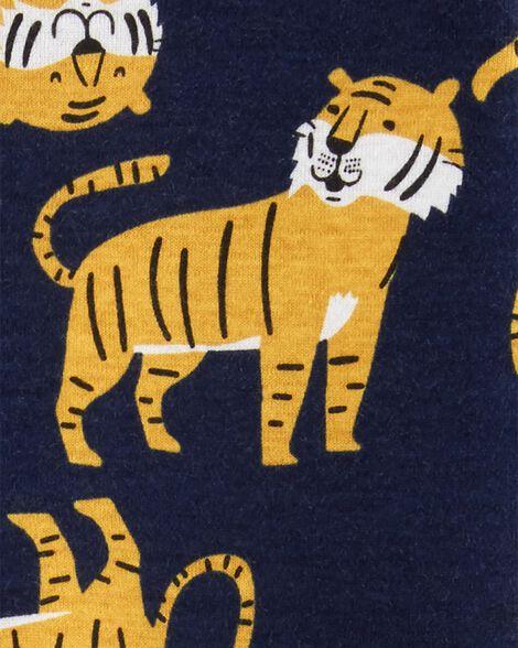 1-Piece Tiger Snug Fit Cotton Footless PJs