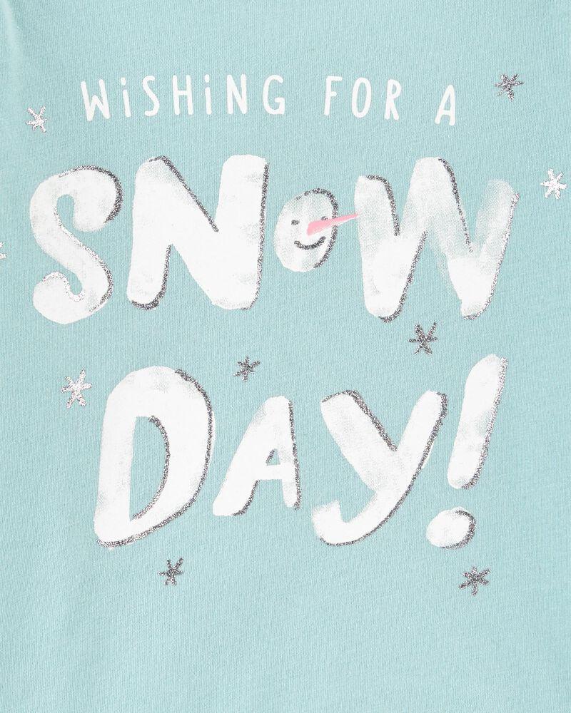 T-shirt en jersey Snow Day, , hi-res