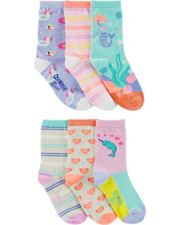 6-Pack Icon Crew Socks