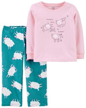 Pyjama 2 pièces en molleton avec mo...