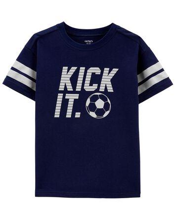 T-shirt en jersey Kick It