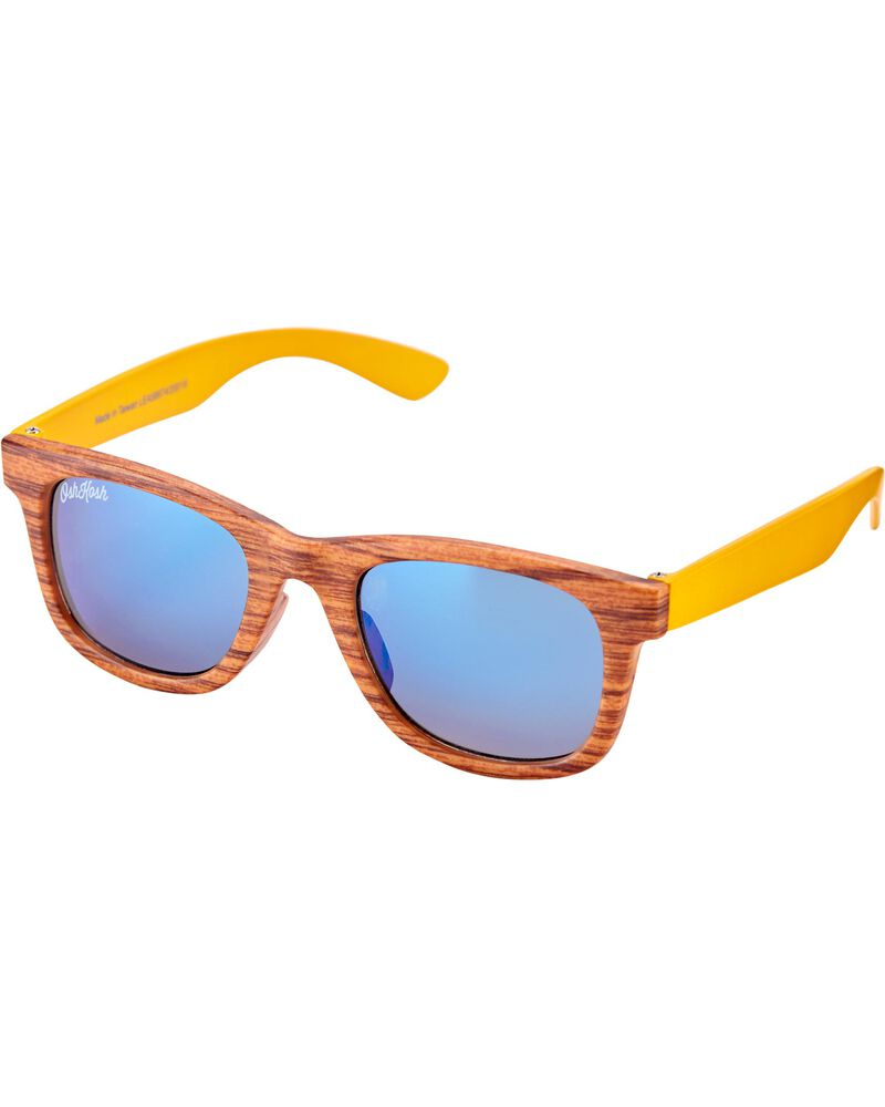 Classic Wood Sunglasses, , hi-res
