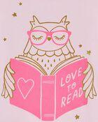 Reading Owl Jersey Tee, , hi-res