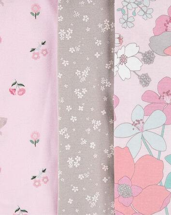 5-Pack Floral Original Bodysuits