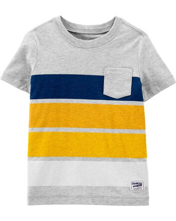 Chest Stripe Pocket Tee