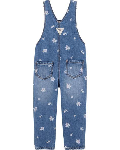 Denim Overalls - Cornflower Blue Wash