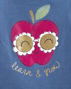 T-shirt en jersey Apple Grow, , hi-res