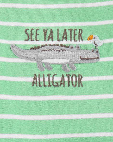 Ensemble 3 pièces Little Character alligator