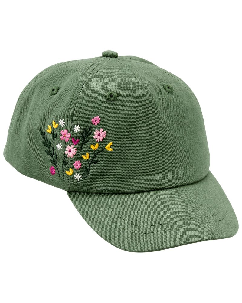 Casquette de baseball à fleurs, , hi-res