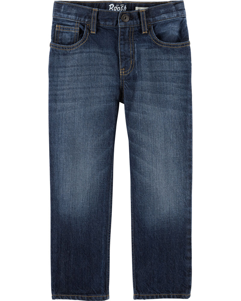 Classic Jeans - Tumbled Medium Faded Wash, , hi-res