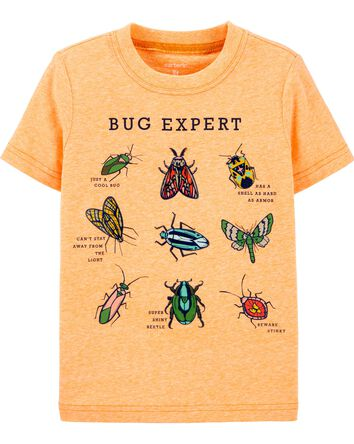 T-shirt en jersey chiné BUG EXPERT
