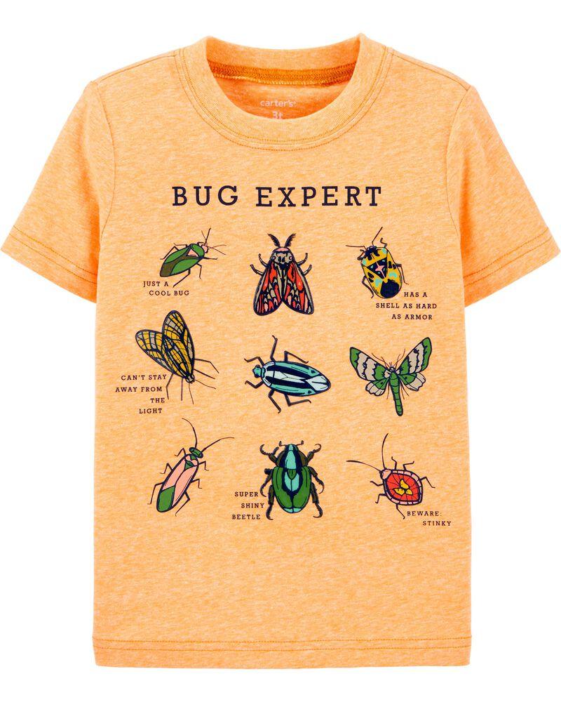 T-shirt en jersey chiné BUG EXPERT, , hi-res
