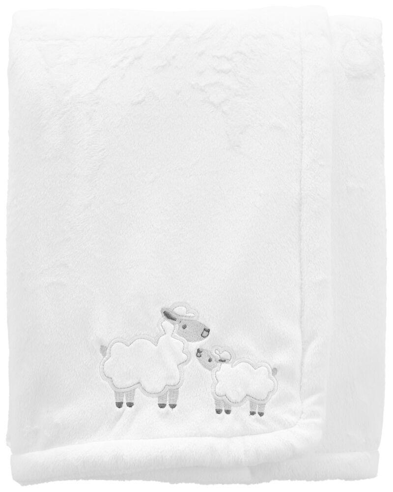 Couverture pelucheuse à agneau, , hi-res