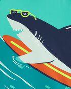 Maillot dermoprotecteur requin, , hi-res